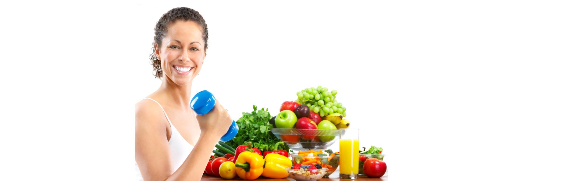 Woman with exercise and proper diet