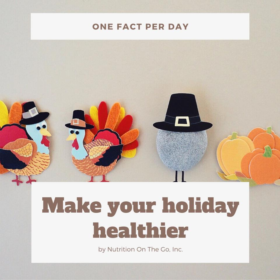 Make your holiday healthier