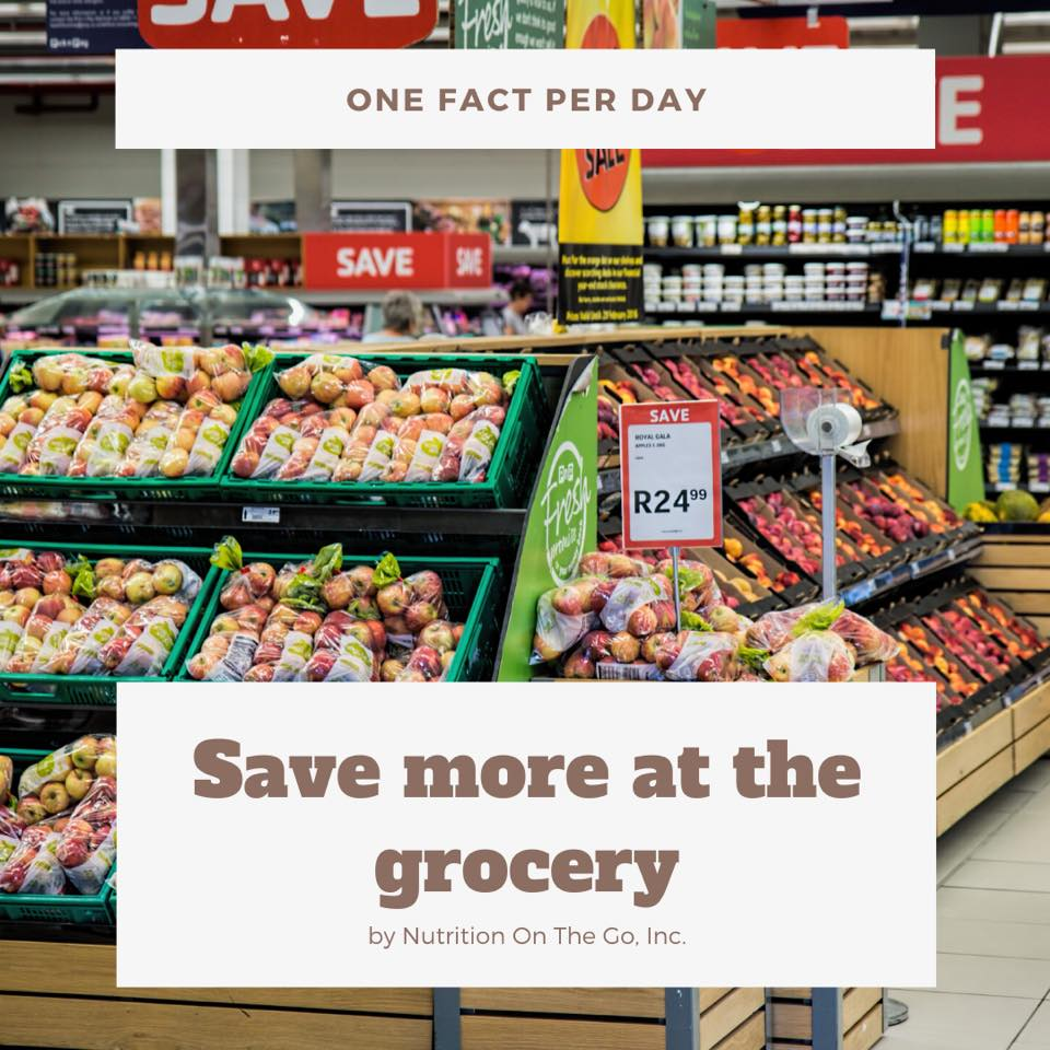 Save more at the grocery