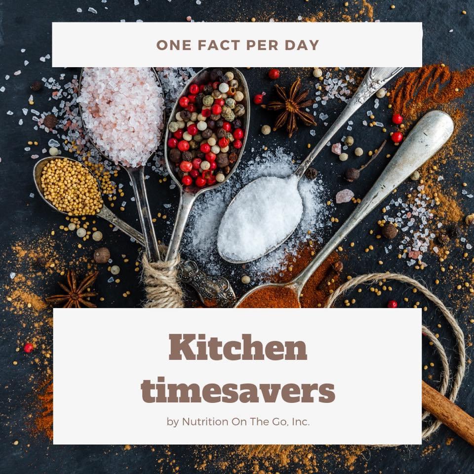 Kitchen timesavers