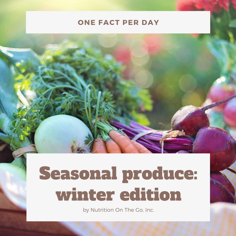 Seasonal produce: Winter edition